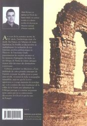 La belle époque de l'archéologie - 4ème de couverture - Format classique
