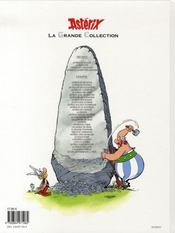 Astérix t.32 ; Astérix et la rentrée gauloise - 4ème de couverture - Format classique