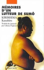 Memoires D'Un Lutteur De Sumo - Couverture - Format classique