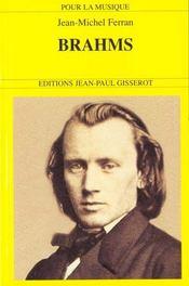 Brahms - Intérieur - Format classique