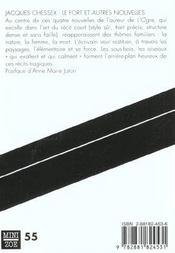 Le fort ; et autres nouvelles - 4ème de couverture - Format classique