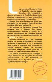 Les Retraites Au Péril Du Libéralisme - 4ème de couverture - Format classique