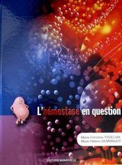 L'hémostase en question - Intérieur - Format classique
