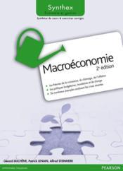 Synthex ; Macroéconomie (2e Edition) - Couverture - Format classique