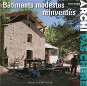 Archi pas chère : batiments modestes reinventés - Couverture - Format classique