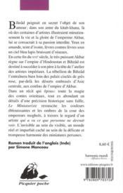 Le miniaturiste - 4ème de couverture - Format classique