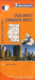 Vente livre :  USA west, Canada west  - Collectif Michelin