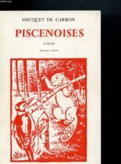 Piscenoises - Fables - Premier Livret - Couverture - Format classique