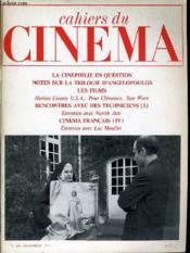 CAHIERS DU CINEMA N° 283 - LA CINEPHILE EN QUESTION - NOTES SUR LA TRILOGIE D'ANGELOPOULOS - LES FILMS - RENCONTRES AVE DES TECHNICIENS (1) - CINEMA FRANCAIS (IV) - ENTRETIENS AVEC NURITH AVIV et LUC MOULLET - Couverture - Format classique