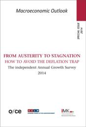 Vente livre :  Special issue 2014 ; from austerity to stagnation : how to avoid the deflation trap  - Collectif