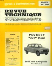 Rta 379.2 Peugeot 304 Diesel (1976/1980) - Couverture - Format classique