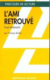 L'ami retrouvé, d'Uhlman - Intérieur - Format classique