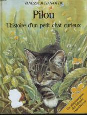 Pilou chat curieux - Couverture - Format classique