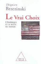 Le Vrai Choix - Intérieur - Format classique