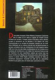 Histoire De L'Empire Byzantin - 4ème de couverture - Format classique