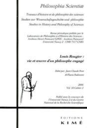 Revue Philosophia Scientiae N.10 - Couverture - Format classique