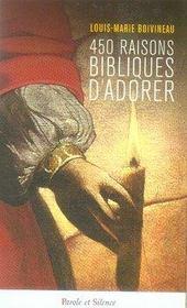 450 raisons bibliques d'adorer - Intérieur - Format classique