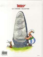 Astérix t.30 ; la galère d'Obélix - 4ème de couverture - Format classique