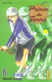 Prince du tennis t.6 - Couverture - Format classique