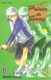 Prince du tennis t.6 - Intérieur - Format classique
