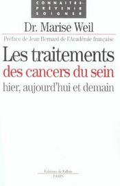 Les traitements des cancers du sein - Intérieur - Format classique