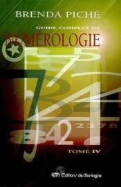 Guide Complet De Numerologie T4 - Couverture - Format classique