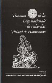 Travaux de la loge n.45 ; franc metier au feminin - Intérieur - Format classique