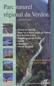 Parc naturel régional du Verdon ; à peid, à VTT, à cheval - Couverture - Format classique