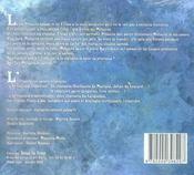 Mélusine, la fée d'abondance - 4ème de couverture - Format classique