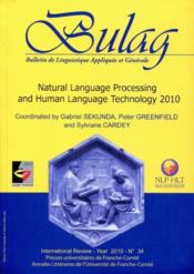 Vente livre :  Natural language processing and human language technology 2010  - Sylviane Cardey - Gabriel Sekunda - Peter Greenfield