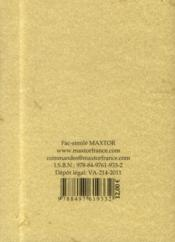 Manuel pratique d'équitation - 4ème de couverture - Format classique