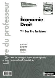 Eco Droit Term Bpro (Voie Prof - Couverture - Format classique