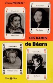Ces dames de bearn - Couverture - Format classique