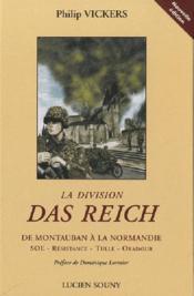 La division das Reich ; de Montauban à la Normandie - Couverture - Format classique