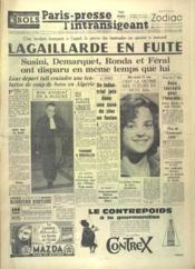 Paris Presse L'Intransigeant N°4973 du 06/12/1960 - Couverture - Format classique
