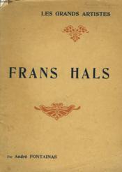 Frans Hals - Couverture - Format classique