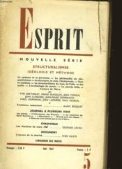 Esprit - Couverture - Format classique