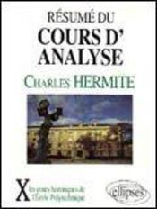 Resume Du Cours D'Analyse - Intérieur - Format classique