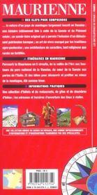 Maurienne-Savoie - 4ème de couverture - Format classique