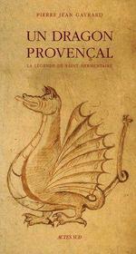 Un Dragon Provencal - Couverture - Format classique