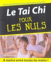 Tai Chi Pour Les Nuls - Intérieur - Format classique