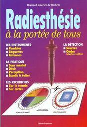 Radiesthesie A La Portee De Tous - Intérieur - Format classique