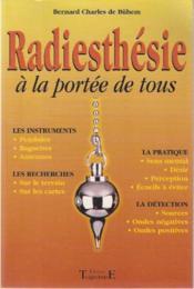 Radiesthesie A La Portee De Tous - Couverture - Format classique