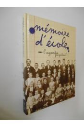 Agenda Memoire D Ecole - Couverture - Format classique