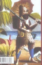 Robinson crusoe - 4ème de couverture - Format classique