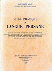 Langue Persane. Cours Pratique. - Couverture - Format classique