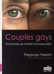 Couples gays ; dix histoires de familles homosexuelles - Intérieur - Format classique