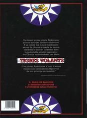 Les tigres volants t.1 ; raids sur Rangoon - 4ème de couverture - Format classique