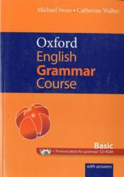 Vente  Oxford english grammar course: basic with answers cd-rom pack  - Xxx