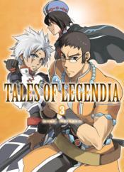 Tales of legendia t.3 - Couverture - Format classique